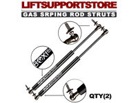 Qty 2 Rear Trunk Lift Supports Struts For Ford Focus 05-11 W//O Spoiler