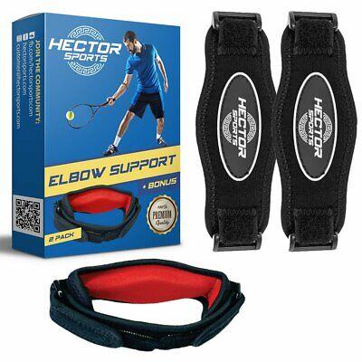 Tennis Elbow Brace for Tendonitis & Tendon Pain Relief - Best Adjustable
