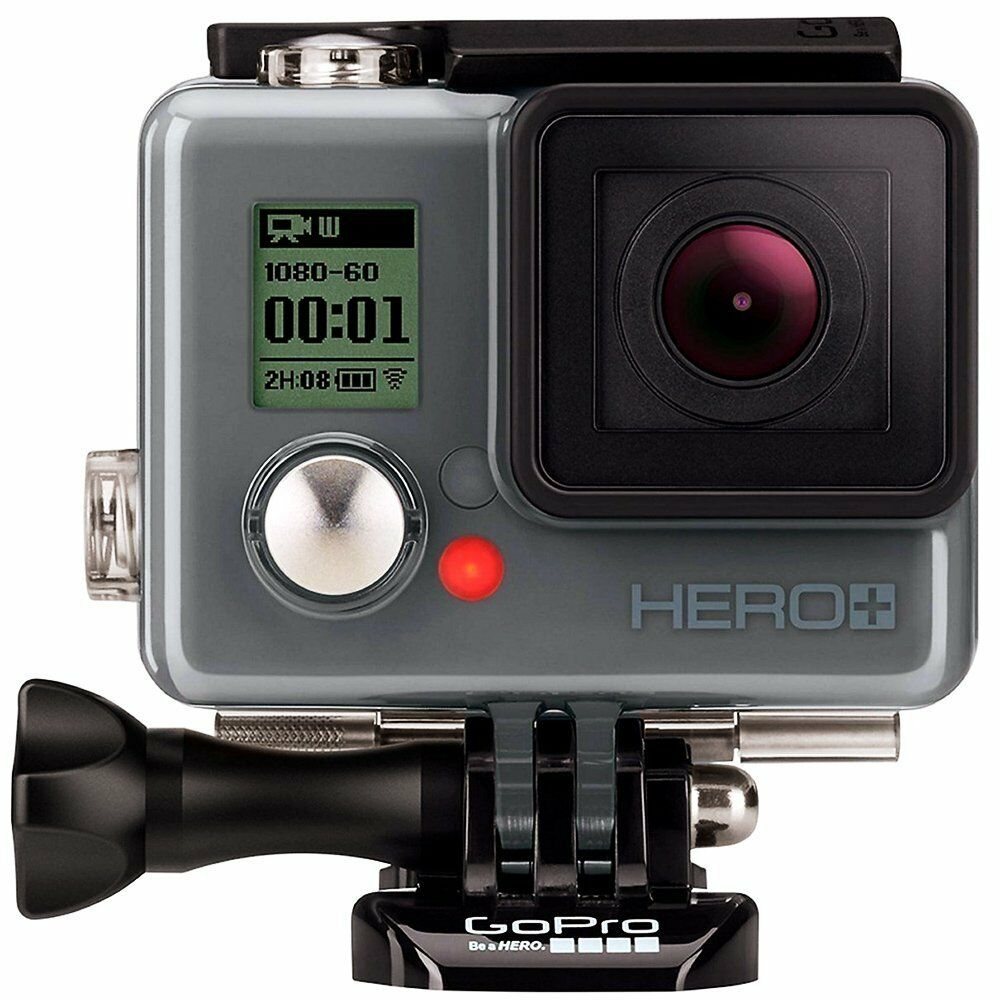 GoPro HERO+ LCD Waterproof HD Action Camera Bundle with Accessories