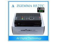 Zgemma H5.2TC w/ 12m cable sat gift warranty 1TB HDD 12 month H52TC 1 year VM triple twin tuner box