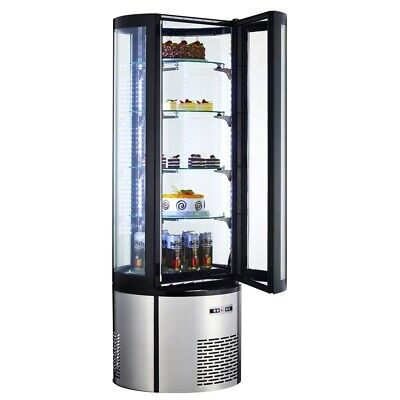 Marchia Mvsr400 69 Refrigerated Vertical Curved Glass Cake Display Case