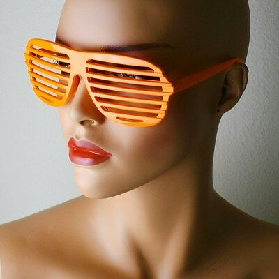 Plastic Glasses For Parties (Novelty Aviator Plastic Glasses Retro Club Party Shades For Men)
