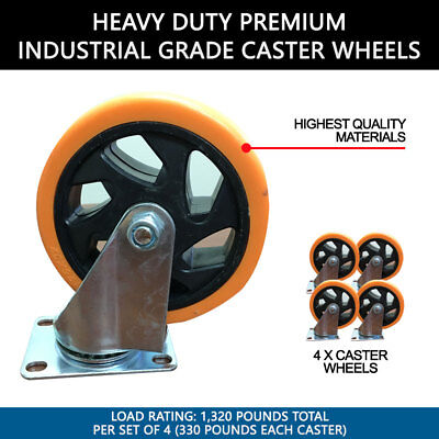 (SET of 4)  Heavy Duty Premium 5