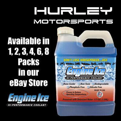 Engine Ice Hi-Performance Coolant Antifreeze - 64 oz / 1/2 Gallon - Qty (3)