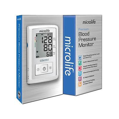 Microlife Premium Blood Pressure Monitor Complete Kit - BP3GX1-5A Brand New