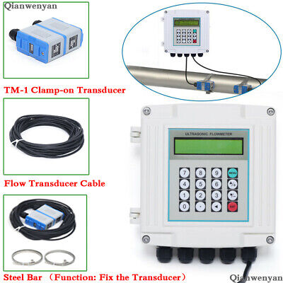Liquid Flow Meter Ultrasonic Flow Meter With Tm-1 Transducer Dn50 To 700mm