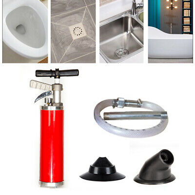 Upgraded Portable Water Ramtoilet Plunger High Pressure Powerful Cleaner Pump