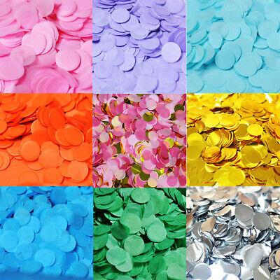 3000pcs Rainbow Biodegradable Circles Confetti Wedding Kids Party Throwing Decor - Paper Confetti