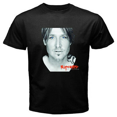 New Keith Urban Ripcord World Tour Dates 2017 Mens Black T Shirt Size S To 3Xl