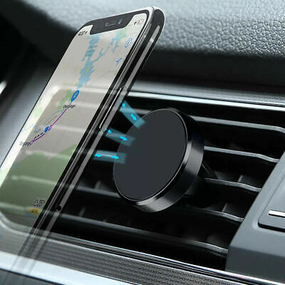 Magnetic Car Phone Holder Mount Air Vent Stand For iPhone 8 X XS 11 Huawei