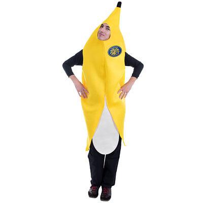 Big Cabana Banana Halloween Costume | Adult One-Size Unisex, Funny Food - Funny Banana Costume