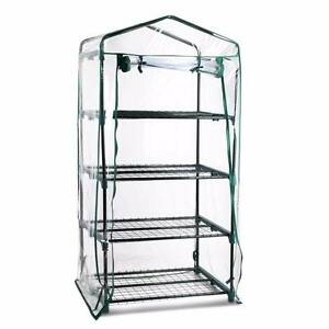 4 Shelf Greenhouse with Transparent PVC Cover Baulkham Hills The Hills District Preview