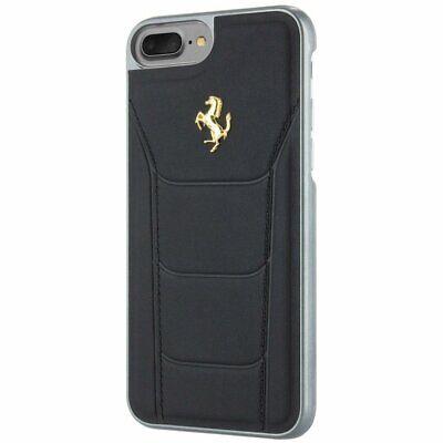 iPhone 7 Ferrari 488 Shock-Absorption Anti-Scratch Hard Case Black Gold Logo