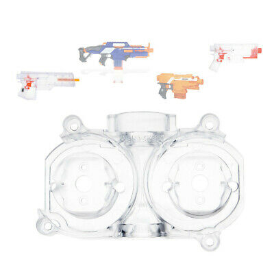 Worker Mod Upgrade Flywheel Cage Transparent for Nerf STRYFE RAPID STRIKE Toy