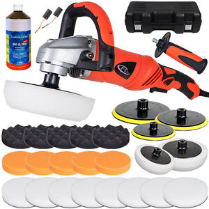 Car Polisher Sander Polishing Machine 0-3000 rpm + Sponge Set + Grinding Paste
