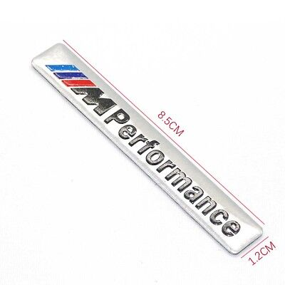 M8zl , 3D Aluminum M Power Performance Car Sticker M Serie BMW