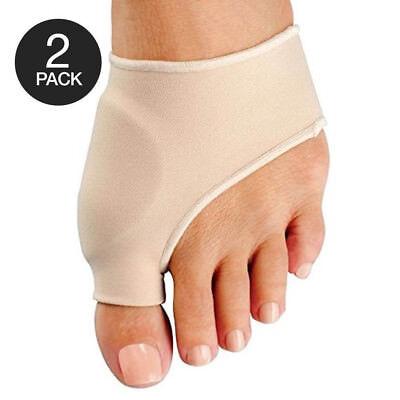 2x Big Toe Bunion Splint Straightener Corrector Foot Pain Relief Hallux Valgus ()