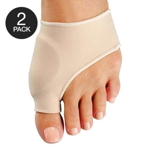 2x Big Toe Bunion Splint Straightener Corrector Foot Pain Relief Hallux Valgus Foot Creams & Treatments