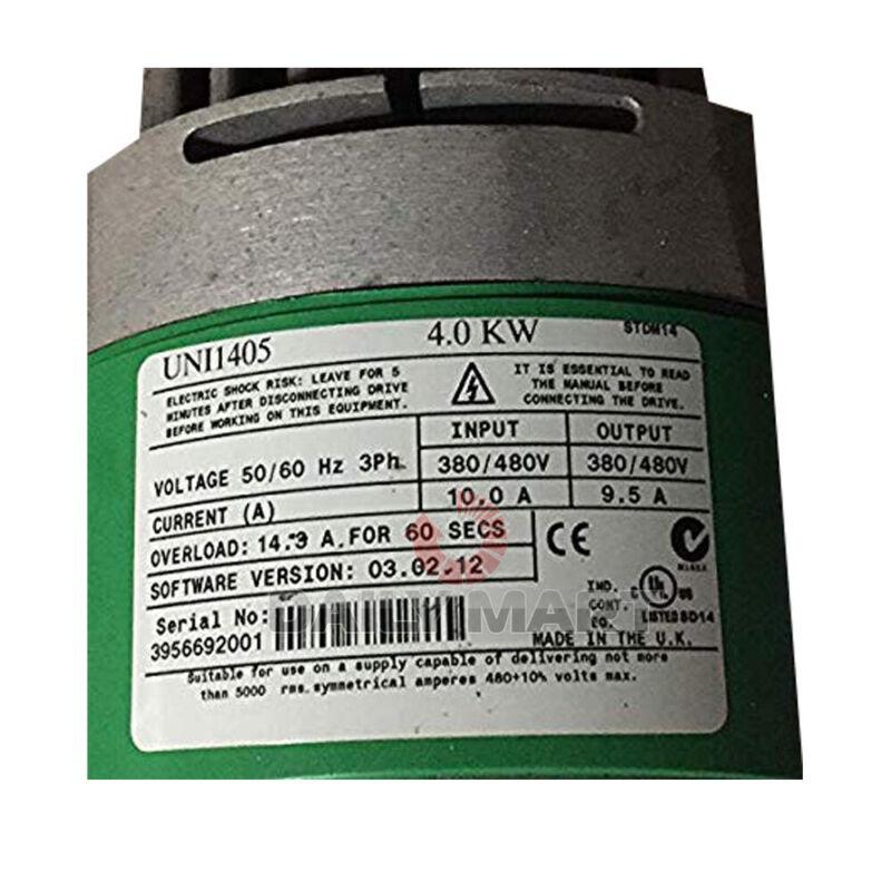 Used & Tested CONTROL TECHNIQUES UNI1405 4kW Unidrive Inverter