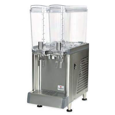 Crathco Cs-2e-16-s Refrigerated Sprayer Drink Dispenser W 2 2 25 Gal Bowls
