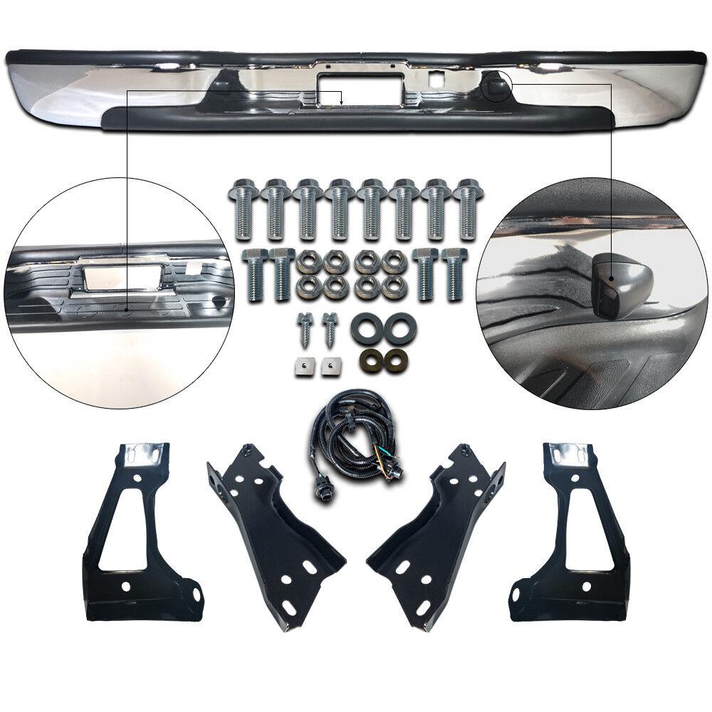 new steel chrome step bumper assembly for chevy silverado gmc sierra