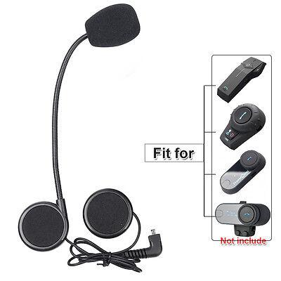 Auriculares casco moto Helmet Earpiece 3.5mm para FDC Bluetooth Intercomunicador
