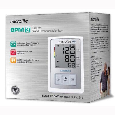 Microlife BP3GX1-5N Deluxe Blood Pressure Monitor