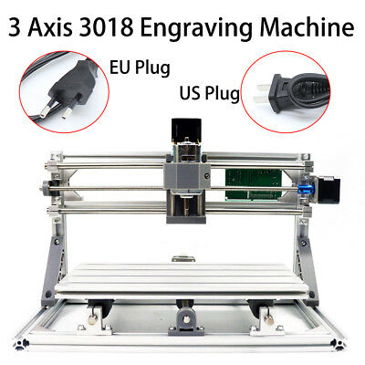 3axis Mini Cnc 3018 Router Wood Carving Engraving Diy 3d Cutter Machine Hot Sale