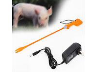 Animal Electric Prod Hot Shock Voltage 8000V Livestock Prodder 82CM Rechargeable