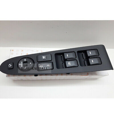 Genuine Main Power Window Switch LH 935703W400WK for 2011-2014 KIA Sportage