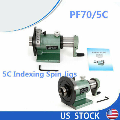 Sale 5c Collet Spin Indexing Fixture For Milling Machines Metalworking
