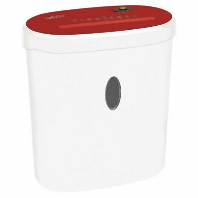 Goecolife Limited Edition 8-sheet Micro-cut Shredder Shred Credit Cards Red