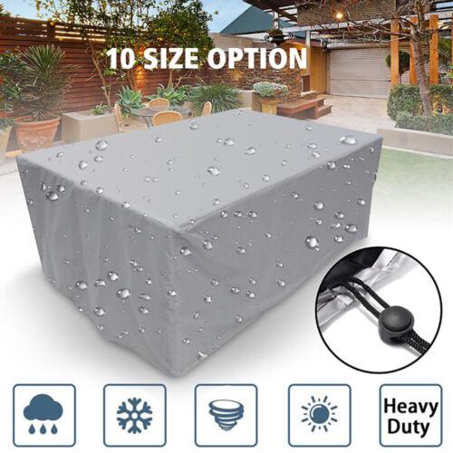 Garden Furniture - Waterproof Garden Patio Furniture Protection Covers Outdoor Table Rain Cover