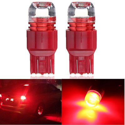 2x 7443 7440 Strobe Flashing Red LED Bulbs For Brake Stop Tail Light Fits Honda