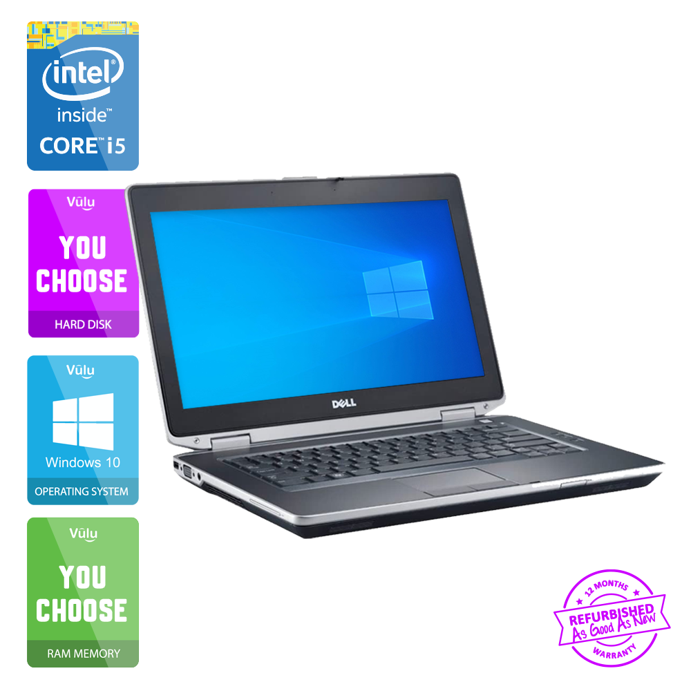 Laptop Windows - GREAT DELL LATITUDE E6430 LAPTOP CORE i5-3340M | 16GB | 480GB SSD | WIN 10