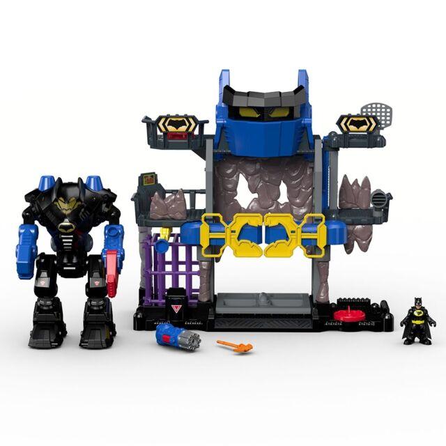 Fisher Price Imaginext DC Super Friends Batcave, Robo Batman Figure Play Set
