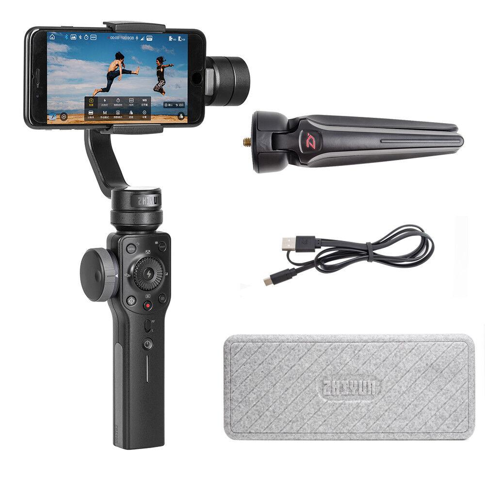 US Warehouse Zhiyun Smooth 4 Handheld 3-Axis Smartphone Gimb