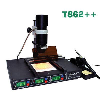 T862 Bga Smd Infrared Rework Station Irda Soldering Welder Preheating Machine