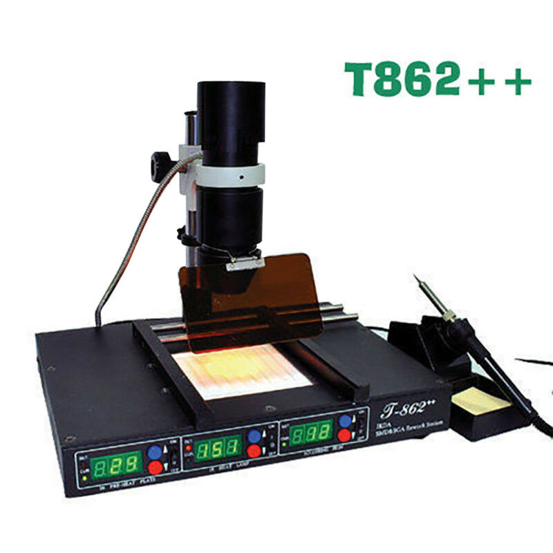 T-862++ Infrared/ Irda/ BGA/ Smt/ Smd/ Welder Rework Station Soldering Station