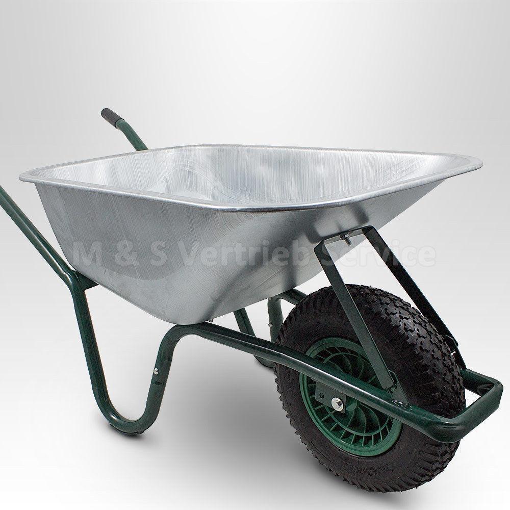 bau garten schubkarre 100l 250kg schubkarren schiebkarre. Black Bedroom Furniture Sets. Home Design Ideas