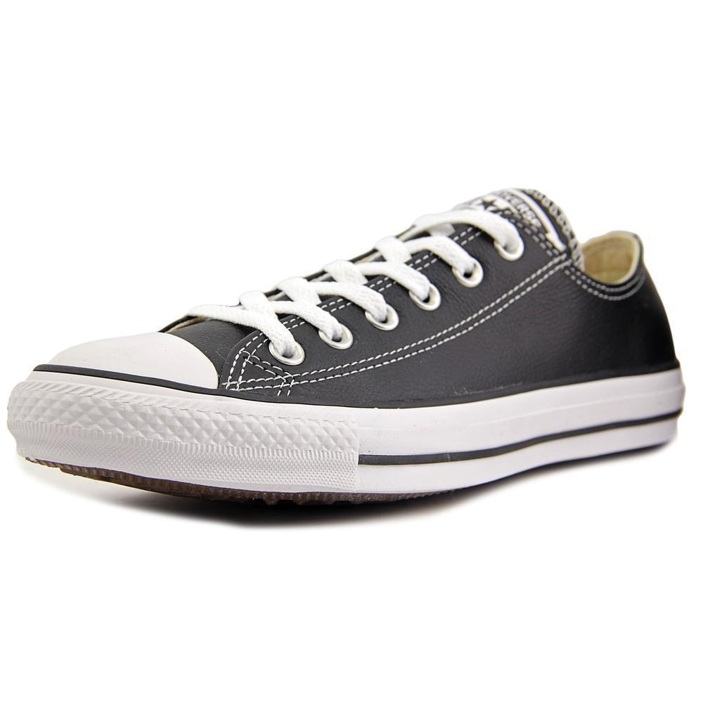 f688b10a5840 Converse Chuck Taylor All Star Ox Oxford Leather Black Men Women ...