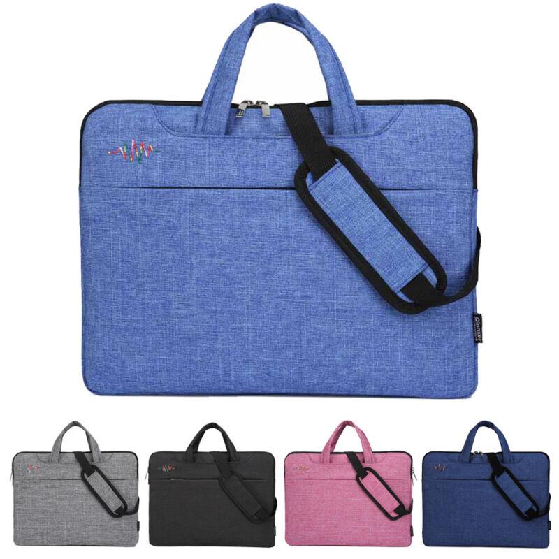 8589c75336b7 Details about Laptop Sleeve Case Shoulder Bag Handbag For HP Dell Lenovo  Apple 13 14 15 inch !