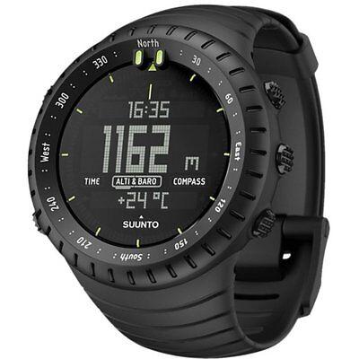 Suunto Core SS014279010 Altimeter Digital Multi-Function Sports Watch - Black