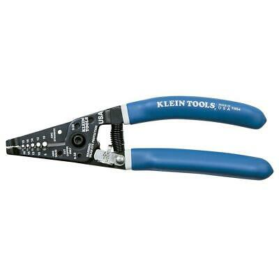 Klein Tools Wire Stripper Cutter Solid Stranded Wires Cutting Tool Curved Handle