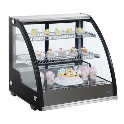 Marchia Mdc130 31 Refrigerated Countertop Bakery Display Case With Led