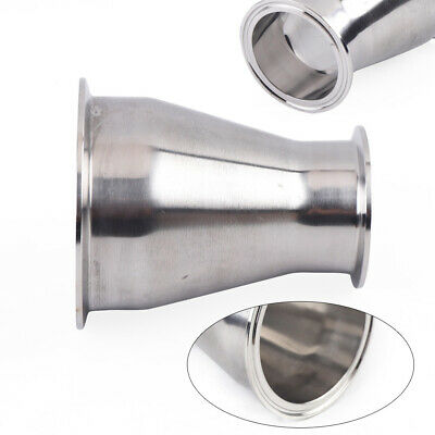 4 X 2.5 Sanitary Concentric Reducer Sus 304 Stainless Steel Weld End Fitting
