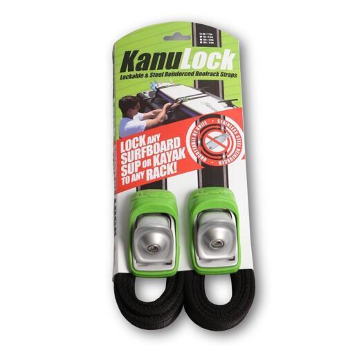 KanuLock Car/Truck Lockable Tie-Down Straps 8ft, 11ft, 13ft, 18ft - Kanu Locks