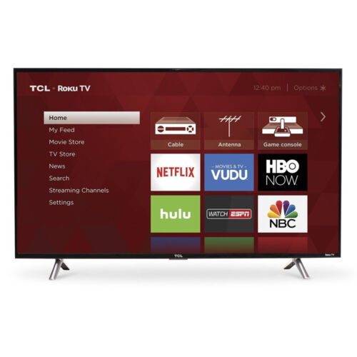 TCL 43-Inch Full HD 1080p 120Hz Roku Smart LED TV/3x HDMI  |