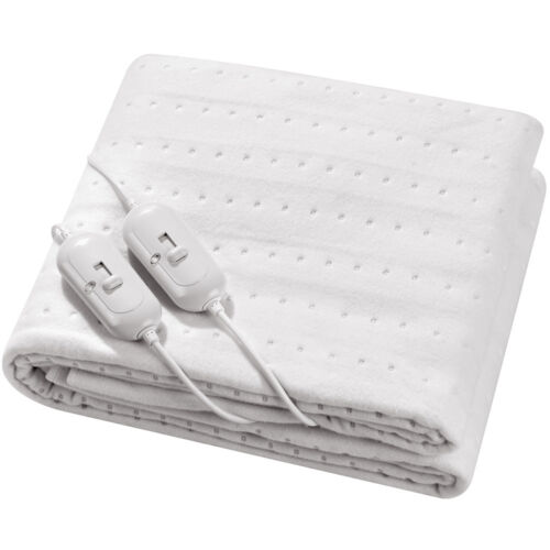 super comfy luxury electric blanket under heated