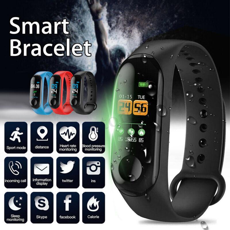 XiaoMi M3 Smart Watch Blood Pressure Heart Rate Monitor Wris